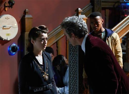 Ashildr Reprimanded  - Doctor Who Season 9 Episode 10