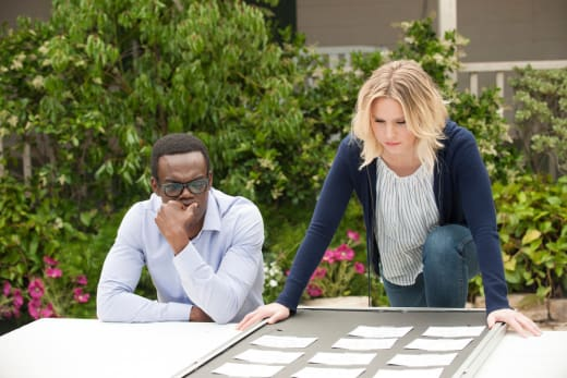 Eleanor and Chidi Plan - The Good Place Season 2 Episode 2