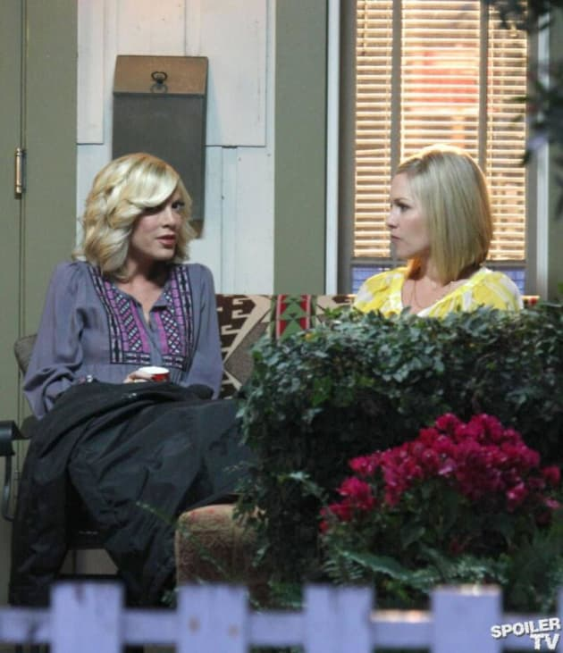 Donna and Kelly