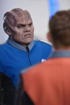Tripper - Lt. Cdr. Bortus - The Orville