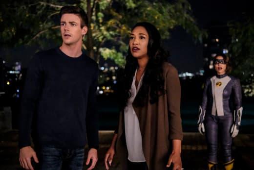 West Allen Family Shocked - The Flash Season 5 Episode 5