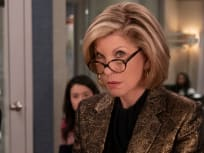 Diane in meeting - The Good Fight Season 4 Episode 1