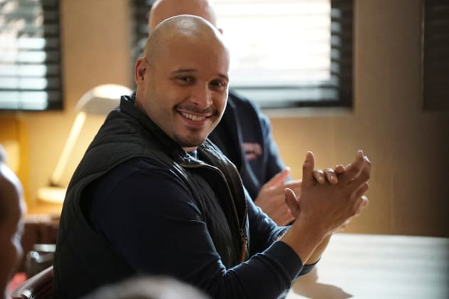 Cruz Is All Smiles - Chicago Fire Season 5 Episode 14