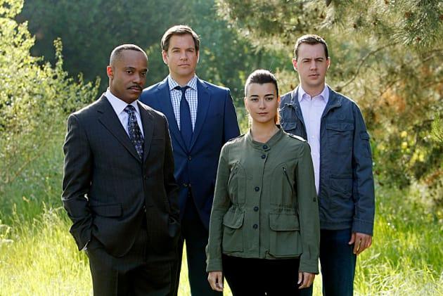 Vance, Tony, Tim and Ziva
