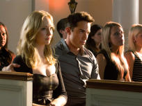 Caroline and Tyler in Mourning
