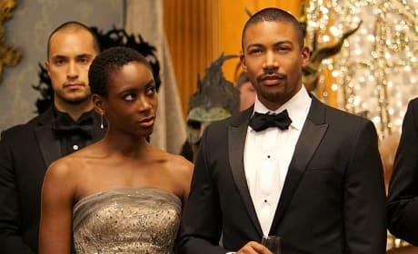 Marcel and Aya - The Originals Season 3 Episode 4