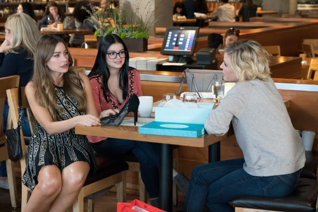 Claire, Gloria and Alex - Modern Family