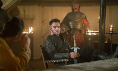 Bishop Heahmund - Vikings Season 5 Episode 3