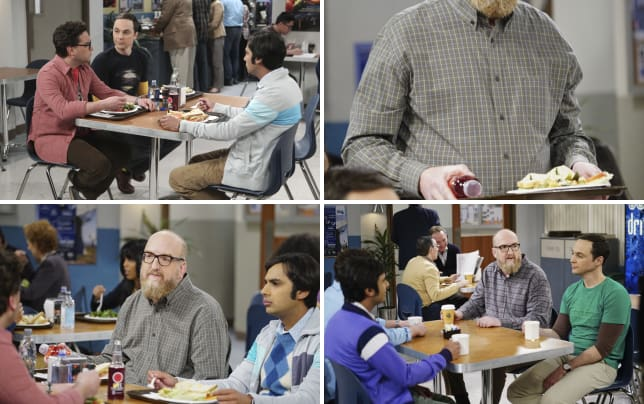 Lunch time conversations the big bang theory s10e21