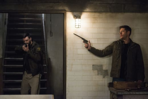 Dean's got the Colt ready - Supernatural Season 12 Episode 18
