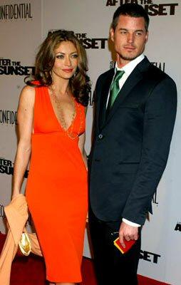 Eric Dane and his wife, Rebecca Gayheart