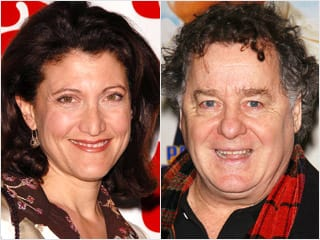 Amy Aquino and Peter Gerety