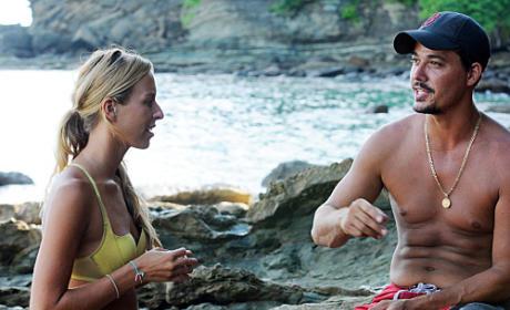 Ashley Talks to Boston Rob