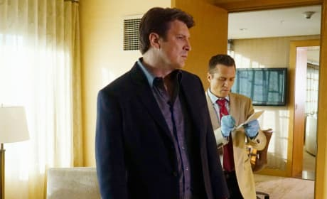 Working Together Again - Castle Season 8 Episode 7