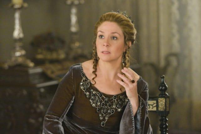Queen Catherine in Moss Green