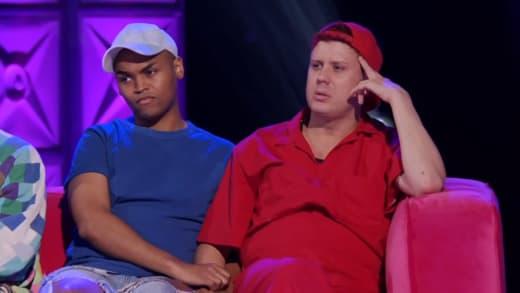 Tina Burner's Psychic Reading - RuPaul's Drag Race Season 13 Episode 10