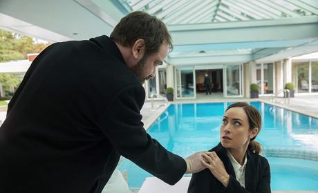 Crowley wants to go for a swim - Supernatural Season 12 Episode 8