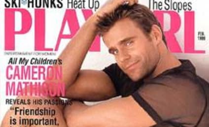 Cameron Mathison on Cover of Playgirl