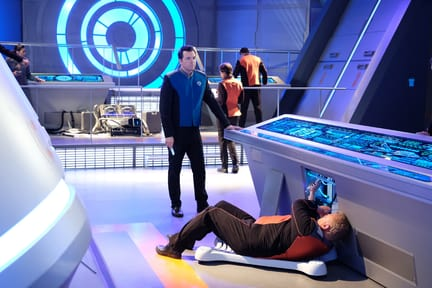 Repairs Under Way - The Orville Season 1 Episode 8