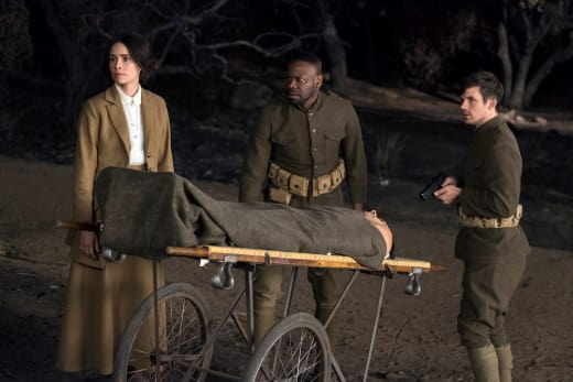 Wounded Soldier - Timeless Season 2 Episode 1