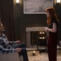 Rowena And Sam - Supernatural Season 13 Episode 19