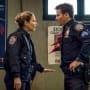 (Horizontal) Eddie Offers Advice - Blue Bloods Season 9 Episode 11