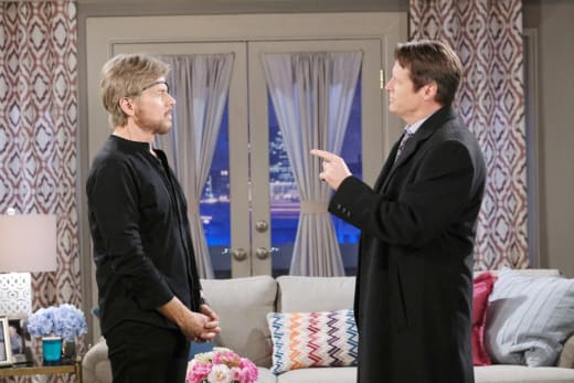 Jack Confronts Stevano - Days of Our Lives