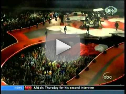 The Rolling Stones Halftime Performance