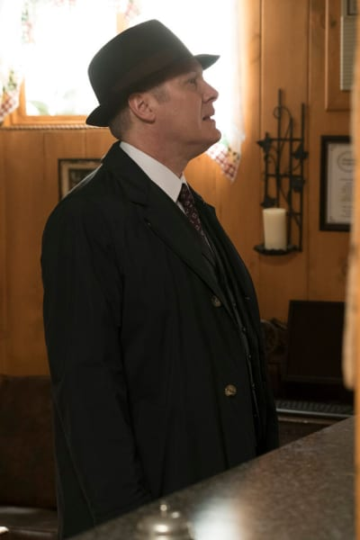 Red checks in - The Blacklist Season 4 Episode 18