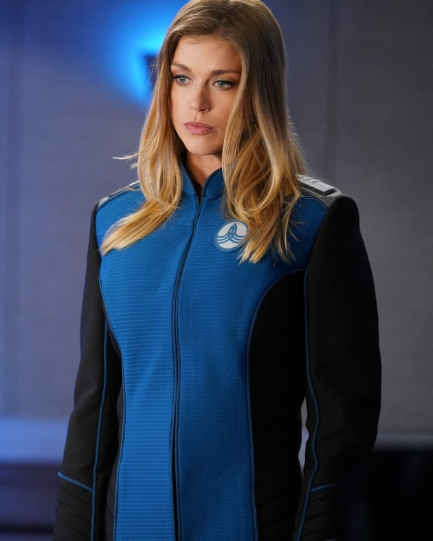 Close Up on Kelly - The Orville Season 2 Episode 1
