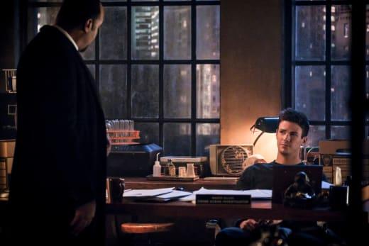 Joe and Barry Heart To Heart - The Flash Season 5 Episode 16