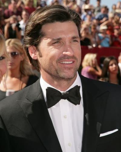 Patrick Dempsey at the Emmy Awards
