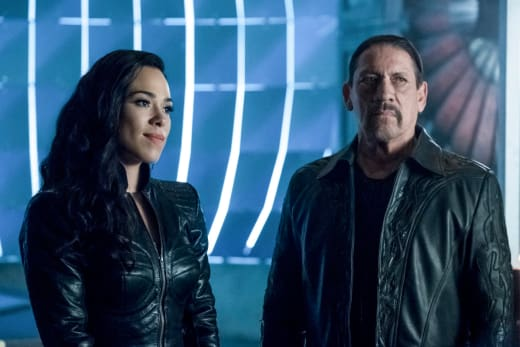 Gypsy's Father Visits - The Flash