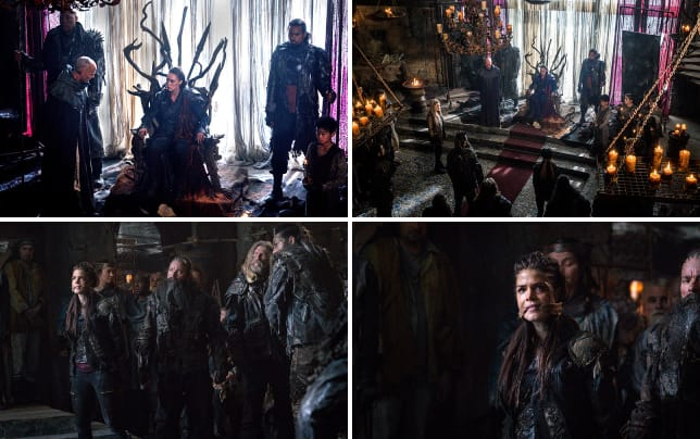 Commander on the throne the 100 season 3 episode 7