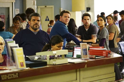 Watching the News - Code Black