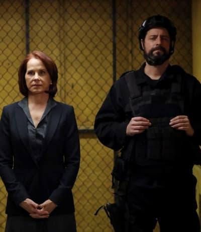 Thrown for a Loop -- Tall - The Blacklist Season 8 Episode 9