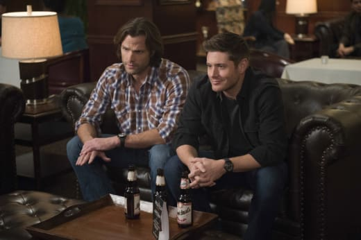 Dean cracks a joke - Supernatural Season 12 Episode 16