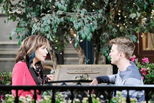 Kate Warns Will - Days of Our Lives