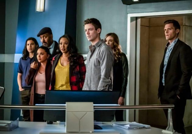 Team Flash Hears The Truth - The Flash Season 5 Episode 17