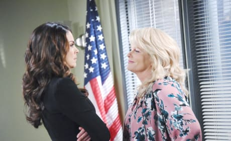 Chloe Confronts Bonnie - Days of Our Lives