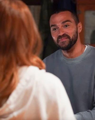 Japril Reunion Season 17 Style - Grey's Anatomy
