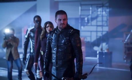 Reunited  - Arrow Season 7 Episode 12
