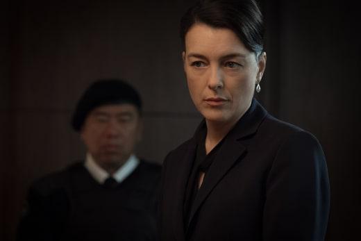 Emily Prime Working Hard - Counterpart Season 1 Episode 10