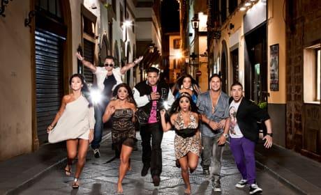 Jersey Shore Cast in Season 4