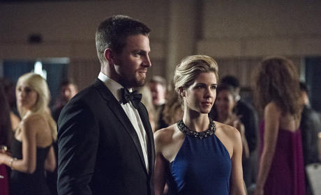 Furture Mayor and First Lady - Arrow Season 4 Episode 7
