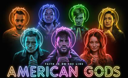 Ricky Whittle, Neil Gaiman, Yetide Badaki, and Bruce Langley Preview American Gods Season 3