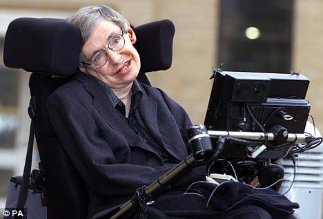 Stephen Hawking Photograph