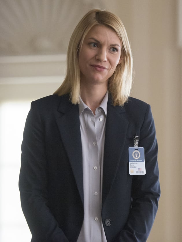 Carrie Confronts Keane's Chief of Staff - Homeland