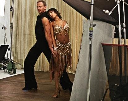 Cheryl Burke and Ian Ziering