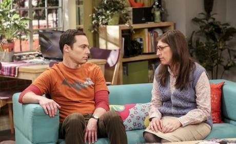 Sheldon and Amy Talk - The Big Bang Theory Season 10 Episode 18